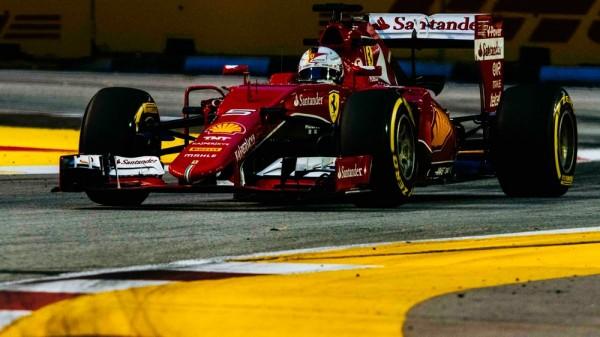 F1 2015 SINGAPOUR SEB VETTEL - Scuderia FERRARI
