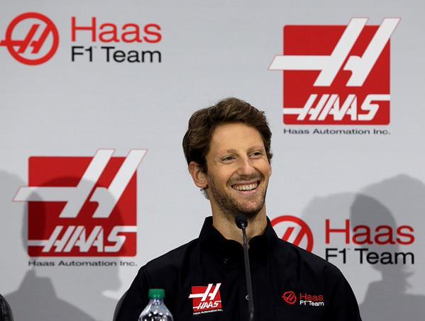 F1 ROMAIN GROSJEAN devient pîlote du TEAM US HAAS GP le mardi 29 septembre 2015