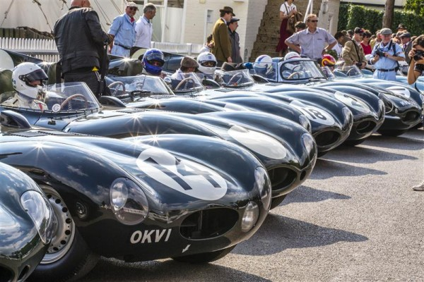 GOODWOOD-REVIVAL-2015-Un-sacré-allignement-de-JAGUAR-TYPE-D