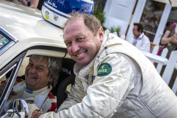 GOODWOOD REVOVAL 2014 - JOCHEN MASS et BILL SHEPHERD.