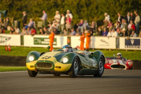 GOODWOOD REVOVAL 2015 - LISTER-JAGUAR KNOBBLY la N°23 de 1959.