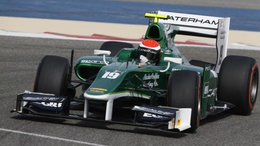 2014 BAHREIN - Test Alexander ROSSI Team CATERHAM