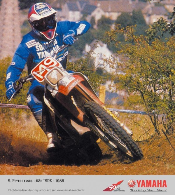 PETERHANSEL, ISDE 1988