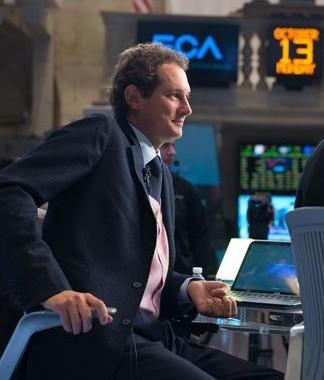 John Elkann President de FCA à Wall Street