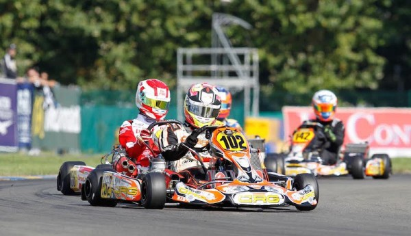 KARTING MONDIAL 2015 LE MANS Pedro HILTBRAND Photo Thierry COULIBALY