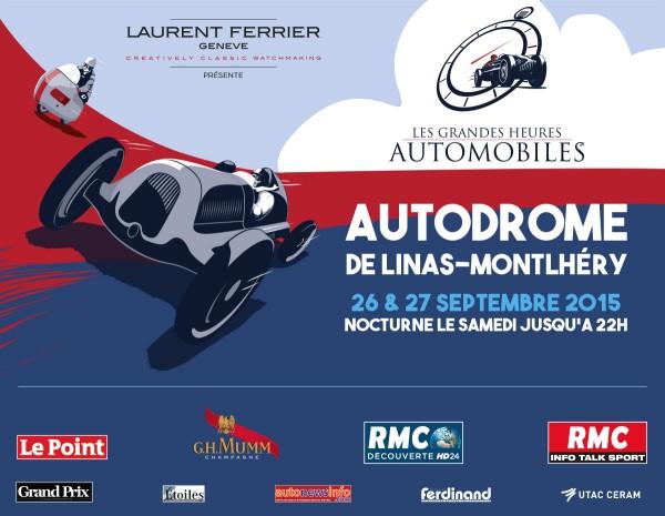 LES GRANDES HEURES DE L'AUTOMOBILE 2015 AFFICHE
