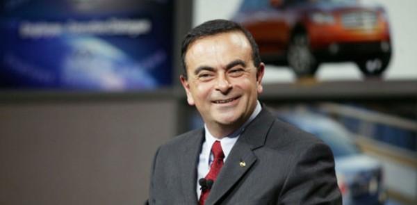 CARLOS GHOSN Le Président du Groupe renzault