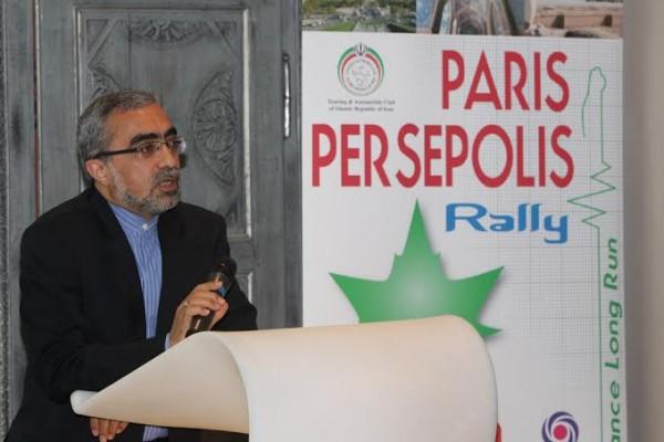 PARIS-PERSEPOLIS-AMBASSADEUR de TEHERAN à PARIS
