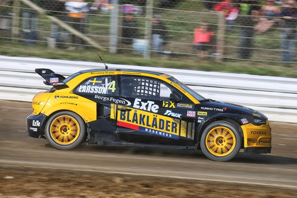 RALLYCROSS 2015 LOHEAC - LARSSON - Photo Gilles VITRY.