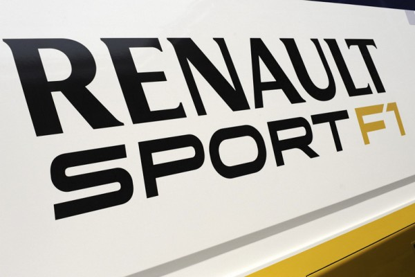 Renault Sport F1 logo.Formula One Testing, Day 3, Barcelona, Spain, Saturday 3 March 2012.