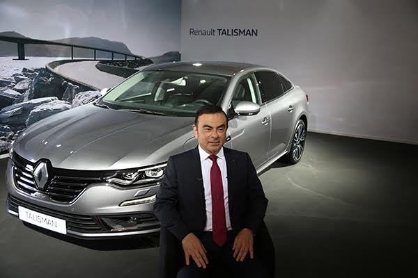 RENAULT TALISMAN et CARLOS GHOSN Photo Gilles VITRY