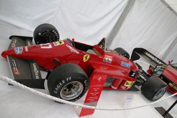 Salon-Véhicules-de-collection-Nice-2014-FERRARI-F1-de-Michael-ALBORETO-photo-J.F.THIRY