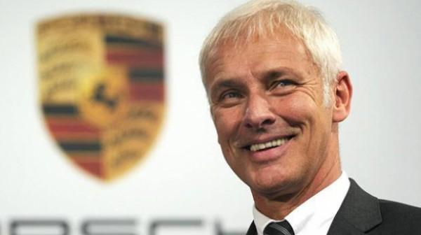 VW Matthias MULLER nomme nouveau patron du GROUPE VW.