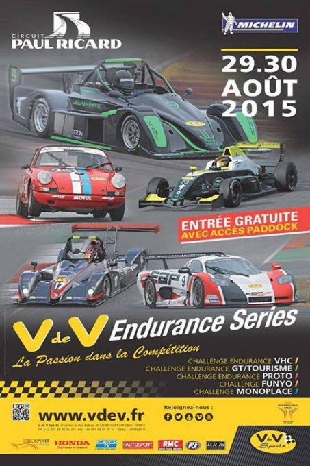 VdeV 2015 Paul Ricard  Affiche