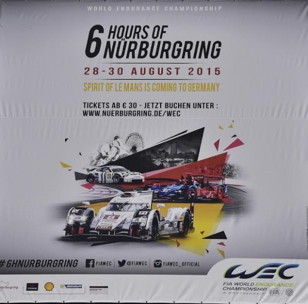 WEC 2015 NURBURGRING Affiche Photo Max MALKA