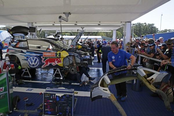 WRC 2015 - Assistance Equipe VW