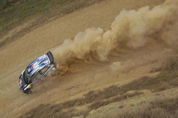 WRC 2015 AUSTRALIE Au volant de la VW POLO WRC OGIER INGRASSIA CHAMPIONS DU MONDE pour la 3éme fois le dimanche 13 Septembre avec en outre le meilleur chrono de la Power stage