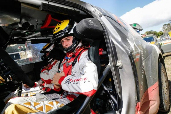 WRC 2015 AUSTRALIE DS3 CITROEN STEPHANE LEFEBVRE