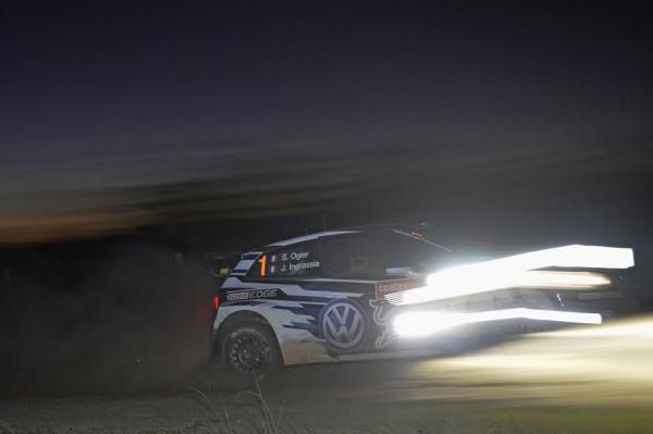 WRC 2015 La POLO WRC de Seb OGIER et Julizn INGRASSIA.