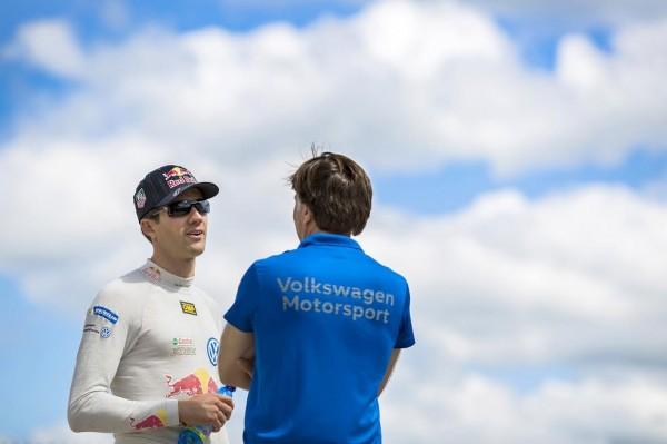 WRC 2015 VW POLO OGIER et Jost CAPITO.
