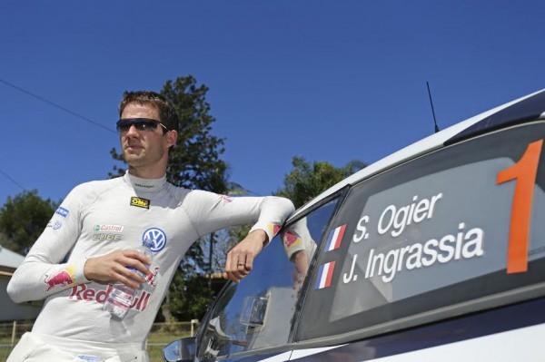Sébastien Ogier (F) WRC Rallye d' Australie 2015
