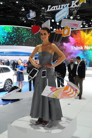 Salon de Francfort 2015-stand-VW -Photo Patrick MARTINOLI