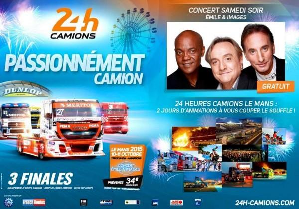 24 HEURES DUMANS CAMION 2015 AFFICHE