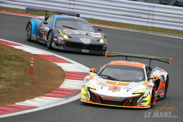 ASIAN LE MANS SERIES 2015 FUJI -La MC LAREN classée seconde et 1ére en GT