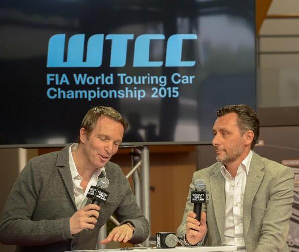 CIRCUIT PAUL RICARD 2015 Presentation de la saison le 10 Mars - Stephane ROTENBERG et RIBEIRO EUROSPORT EVENTS
