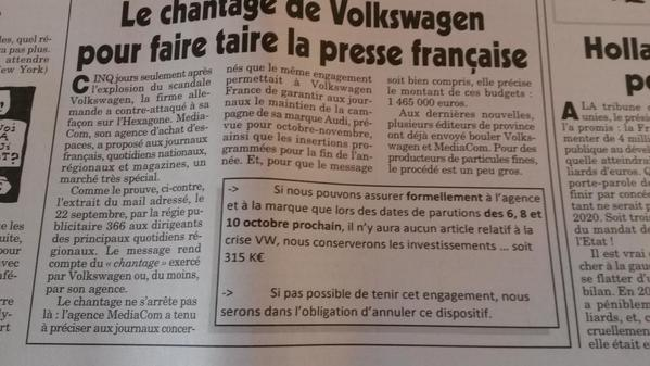 DIESELGATE-VW-l-article-du-CANARD-ENCHAINE-du-mercredi-30-septembre-2015.