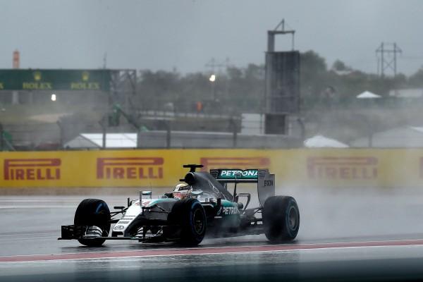 F1 2015 AUSTIN La MERCEDES DE LEWIS HAMILTON