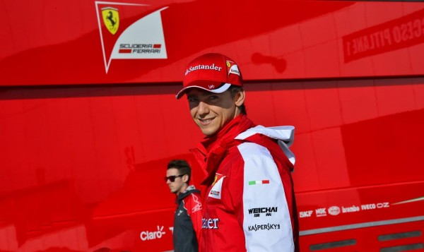 F1 2015 - CIRCUIT DE JEREZ DE LA FRONTERA- Esteban GUTTIEREZ Pilote de reserve de la SCUDERIA FERRARI - Photo MAX MALKA.