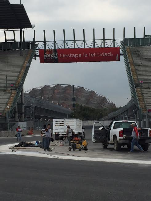 F1 2015 Circuit des freres RODRIGUEZ a MEXICO Photo autonewsinfo
