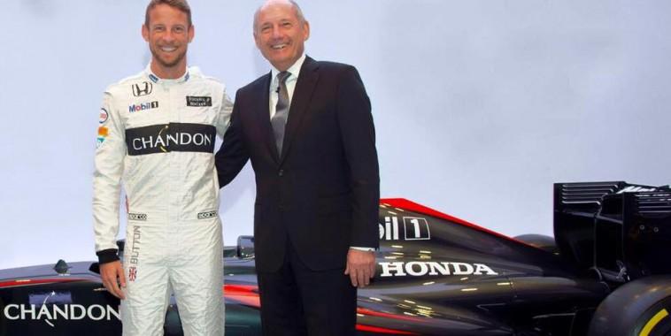 F1 2015 JENSON BUTTON et RIN DENNIS toujours ensemble en 2016 chez McLAREN.
