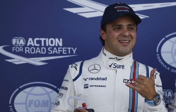 Silverstone, Northamptonshire, England. Saturday 4 July 2015. Felipe Massa, Williams F1, 3rd on the grid. Photo: Glenn Dunbar/Williams ref: Digital Image W89P2724