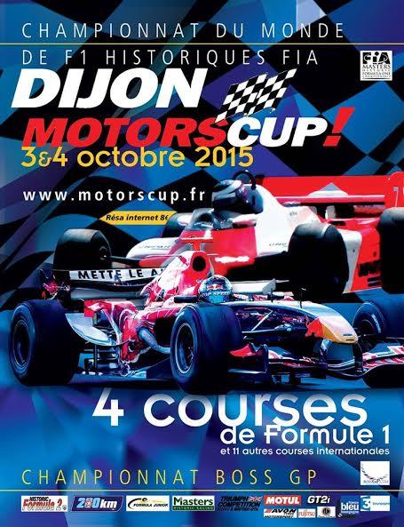 F1 HISTORIQUES 2015 a DIJON Affiche