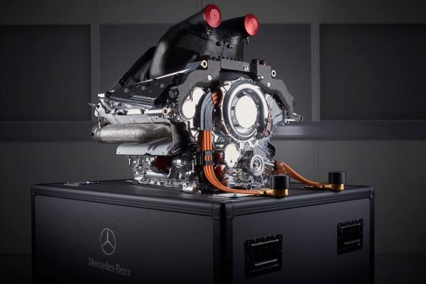 F1 MOTEUR MERCEDES POUR LE TEAM MANOR.