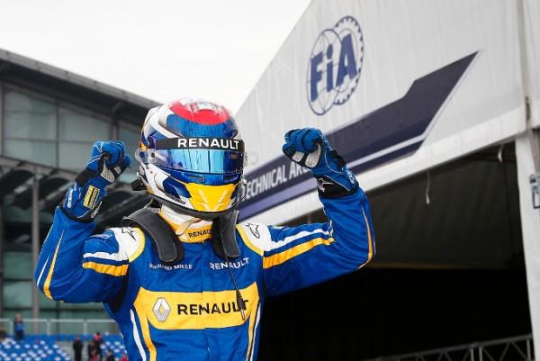 FORMULE E 2015 - PEKIN 1ére victoire de la saison 2015-2016 pour Sébastien BUEMI le samedi 24 octobre.