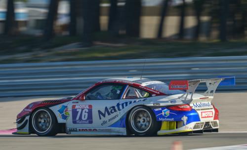 GT TOUR 2014 PAUL RICARD - Nicolas Armindo et Raymond NARAC Porsche IMSA Performance-Matmut- 1er Course 1 Photo Antoine CAMBLOR