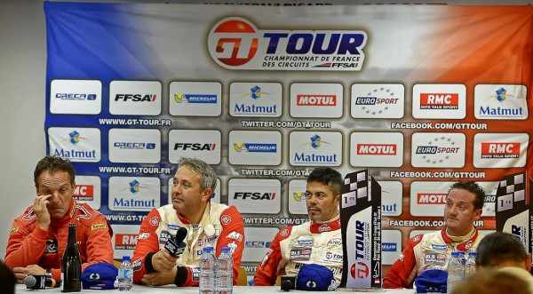 GT-TOUR-2015-PAUL-RICARD-INTERVIEW-des-vainqueurs-et-du-patron-Jerome-POLICAND-Photo-Antoine-CAMBLOR