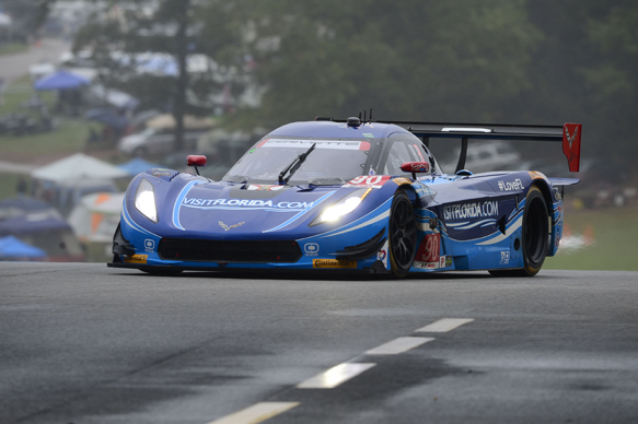 PETIT LE MANS 2015 Richard WESTBROOK en pole avec la CORVETTE DP