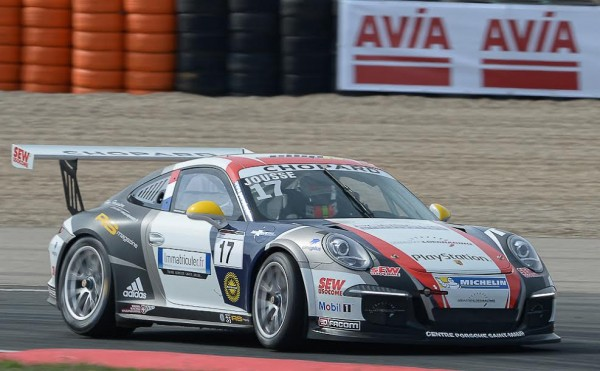 PORSCHE-CARRERA-CUP-2015-NAVARRA-1ére-course-Julien-JOUSSE-Photo-Antoine-CAMBLOR