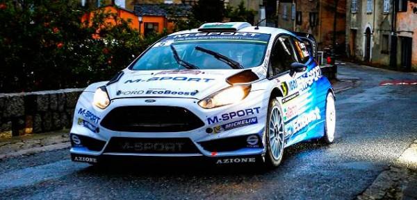 TOUR DE CORSE 2015 La FORD FIESTA RS WRC d ELFYN EVANS.