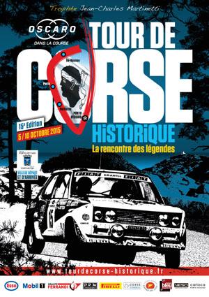 TOUR DE CORSE HISTORIQUE 2015 AFFICHE
