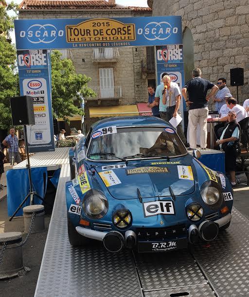 TOUR-DE-CORSE-HISTORIQUE-2015-BERLINETTE-ALPINE-A110-de-CHRISTIAN-CHAMBORD-et-PATRICK-FOURESTIE