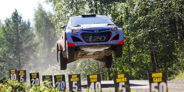 2014 World Rally Championship / Round 08 /  Rally Finland // Worldwide Copyright: Hyundai Motorsport