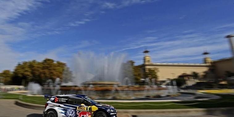 Andreas Mikkelsen (NOR), Ola Fløene (NOR) Volkswagen Polo R WRC (2015) WRC Rally Spain 2015
