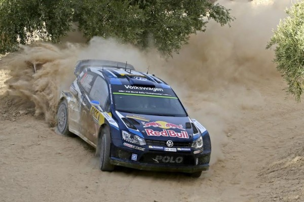 WRC 2015 ESPAGNE - VW POLO de OGIER INGRASSIA.