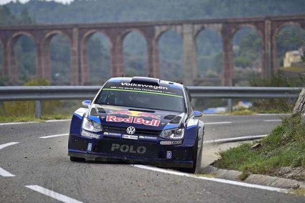 WRC-2015-ESPAGNE-VW-POLO-de-OGIER-INGRASSIA