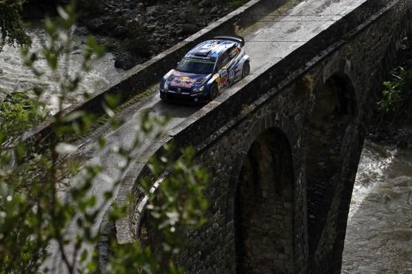 WRC 2015 TOUR DE CORSE . La VW POLO WRC de Jari Matti LATVALA